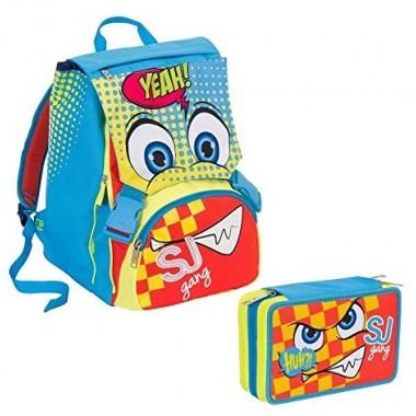 Schoolpack Facce da Sj Boy