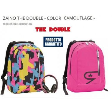 Zaino The Double con cover in omaggio