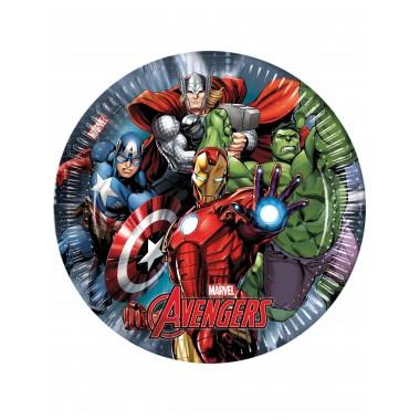 Piatti in carta Avengers