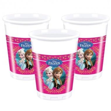 Bicchieri in Plastica Frozen