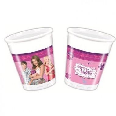 Bicchieri in Plastica Violetta