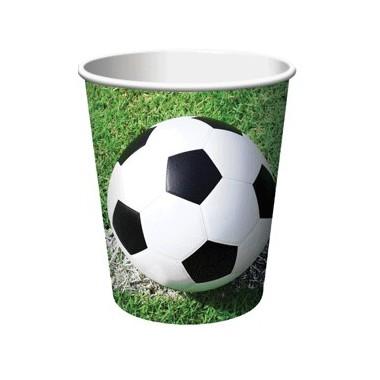Bicchieri in Carta Calcio
