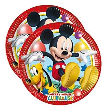 Piatti in carta Mickey Mouse