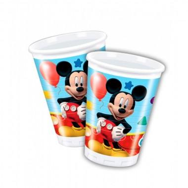 Bicchieri in Plastica Mickey Mouse