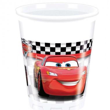 Bicchieri in Plastica Cars