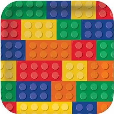 Piatti in carta Lego