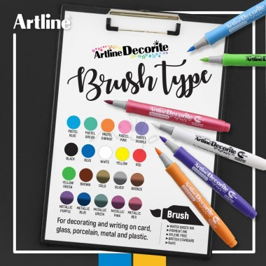 Artline Decorite Marker Brush
