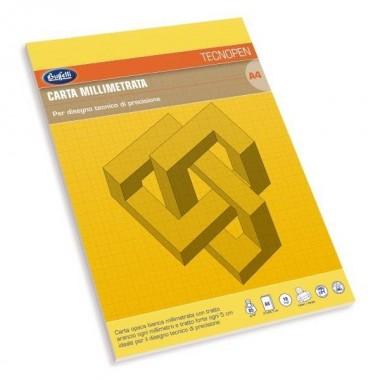 Blocco carta millimetrata Tecnopen -...