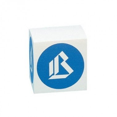 Cubo per appunti - bianco - 9x9x9 cm