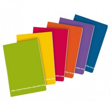 Quaderno f.to A4 Happy Color - 80g -...