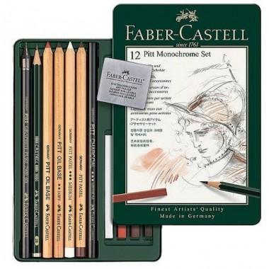 Set Pitt Monochrome Faber Castell 12...