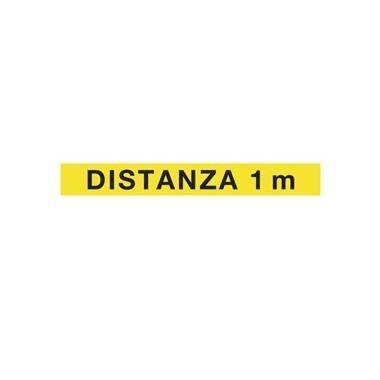 Adesivo: Distanza 1 m