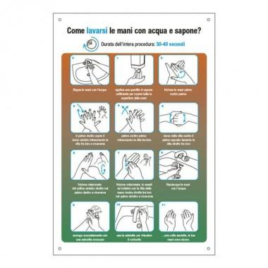 Etichetta: Come lavarsi le mani