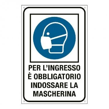 Etichetta: Obbligo uso Mascherina