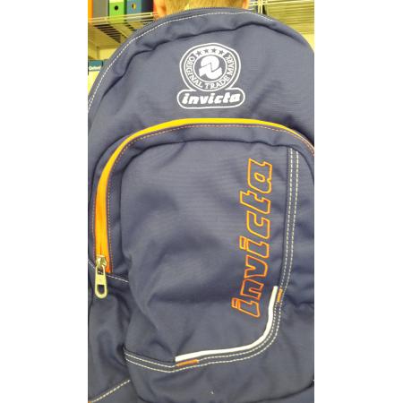 Zaino Invicta Advanced Mission Format blu