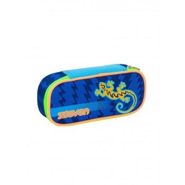 Bustina seven round plus Gecko boy blu