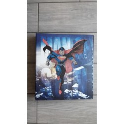 Cartellina Ad Anelli Superman
