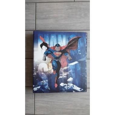 Cartellina Ad Anelli Superman