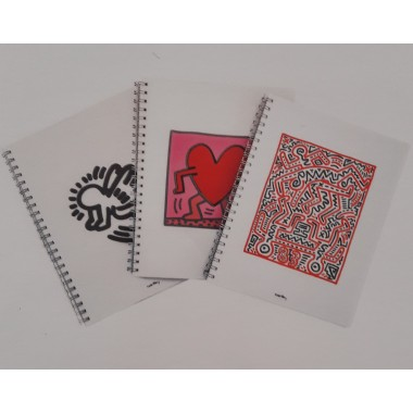 Blocchi A4 con spirale Keith Haring NEW
