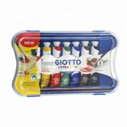 Confezione da 7 Giotto Tempera Extra Fine
