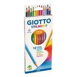 Confezione Da 12 Pastelli Giotto Stilnovo
