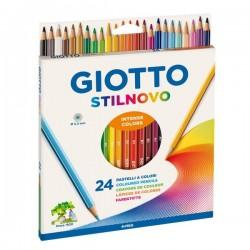 Confezione Da 24 Pastelli Giotto Stilnovo 3.3 mm