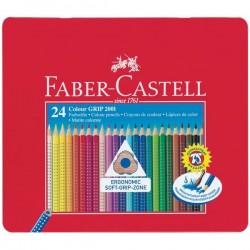 Confezione in Metallo da 24 Pastelli Acquerellabili Faber Castell