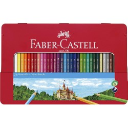 Confezione in Metallo da 36 Pastelli Faber Castell