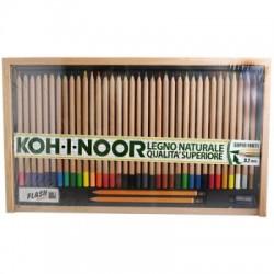 Confezione in Legno da 36 Pastelli Koh I Noor