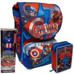 Schoolpack Captain America Civil War Cap.