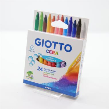 24 Pastelli A Cera Giotto