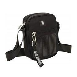 Square Shoulder Bag Black And White Juventus Seven