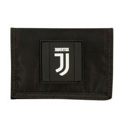 Portafoglio Velcro Black And White Juventus Seven