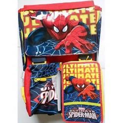 Schoolpack Zaino Sdoppiabile E Astuccio Spiderman
