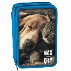 Astuccio A 3 Zip Animals Max Qty