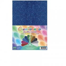 Cartoncino glitter 230g A4  - Lebez