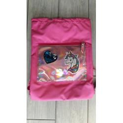 Soft Backpack Unicorno Rosa SJ Gang - Seven