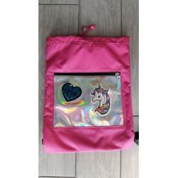 Soft Backpack Unicorno Argento SJ Gang - Seven