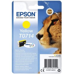Cartuccia Epson T0714 Giallo