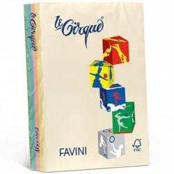 Carta Le Cirque - colori tenui - 5 colori - 80 g - Favini