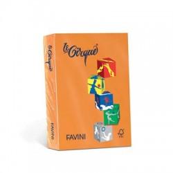 Carta Le Cirque - colori forti - Arancio tropico - 80 g - Favini