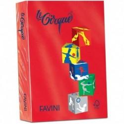 Carta Le Cirque - colori forti - Rosso - 80 g - Favini