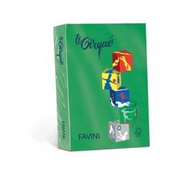 Carta Le Cirque - colori forti - Verde bandiera - 80 g - Favini