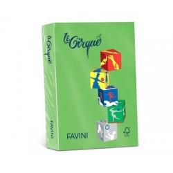 Carta Le Cirque - colori forti - Verde prato - 80 g - Favini