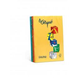 Carta Le Cirque - colori forti - 5 colori - 80 g - Favini