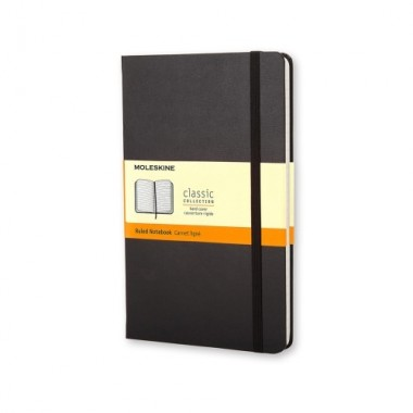 MOLESKINE notebook A5 rigato copertina rigida