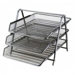 Vaschetta portacorrispondenza 3 livelli in metallo