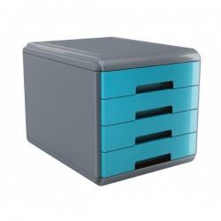 Cassettiera 4 cassetti Plastic Desk