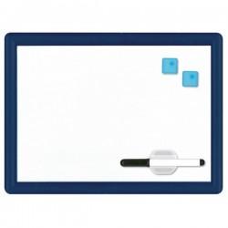 Lavagna magnetica bianca cornice colorata - 29 x 39 cm