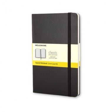 MOLESKINE notebook A6 quadretti copertina rigida
